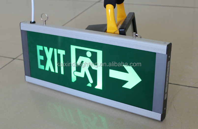 2014 Newest Rechargeable LED Exit Sign