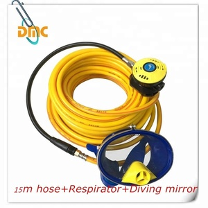 2018 new product 30 meter hookah line diving respirator with full face mask