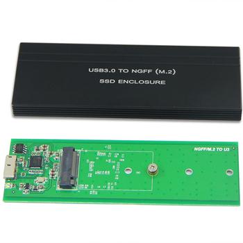 M2 SATA SSD To USB 30 External Reader Converter Adapter Enclosure With UASP