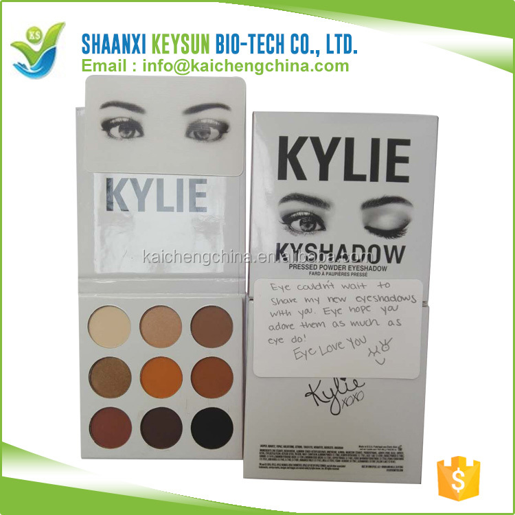 kylie xoxo cosmetics birthday edition 9 colors eyeshadow palette