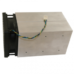 Cooling aggregates with axial fan DC 12 v or 24 v heat sink