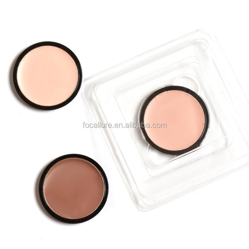 FOCALLURE Alibaba Hot Item 4 Colors Option Makeup Bronzer Contour Shade Cream Make Up Cosmetic <strong>Face</strong> Concealer Palette