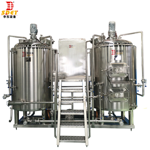 High quality beer brewing equipment suitable for small homebrew and large brewhouse