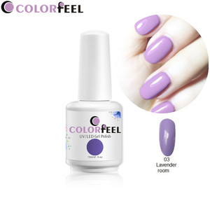 Soak off high quality 240 colors 10 ml nail polish uv gel