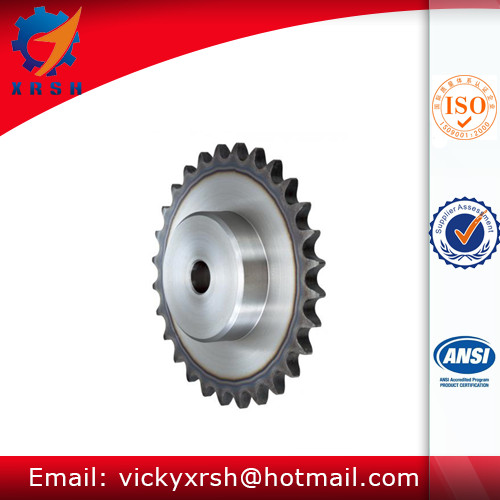 Specification Standard Zinc Plated Roller Chain Sprockets Wheel Sets