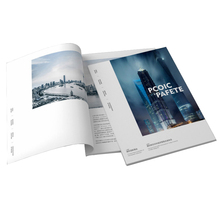 Stampa personalizzata <span class=keywords><strong>A3</strong></span> A4 A5 Perfetto Vincolante Pinzatura Punto Catalogo <span class=keywords><strong>Brochure</strong></span> Aziendale