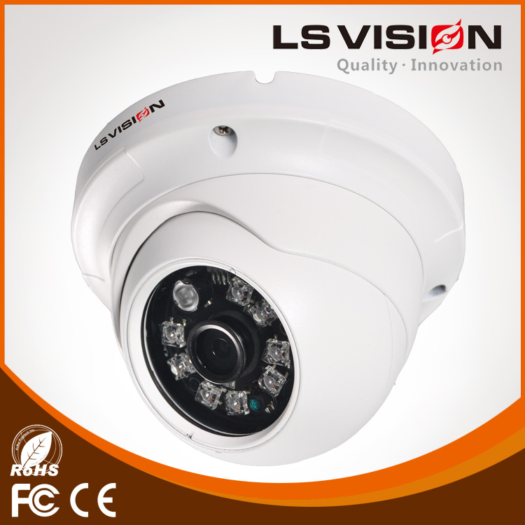 "LS VISION 1/3"" Starlight IMX291 2MP Full HD Weatherproof IR Outdoor POE IP Camera"
