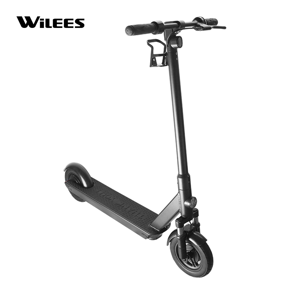 Manke MK088 New Coming 10inch 36V 350W Motor GPS Sharing Electric Kick Scooter with USB Charger and Holder for Adults, Black
