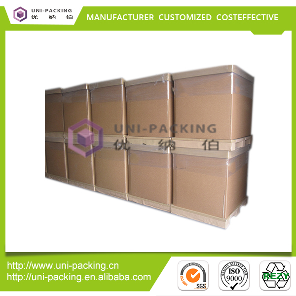 Disposable Customer requirement brown packaging corrugated box
