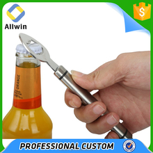 Manufacturer Custom Slim Silver Metal Beer Bottle Opener