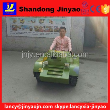 mini tank with minitor to <strong>show</strong> speed, new made double seats tank walk with high speed, JinYao tank car export with wooden case
