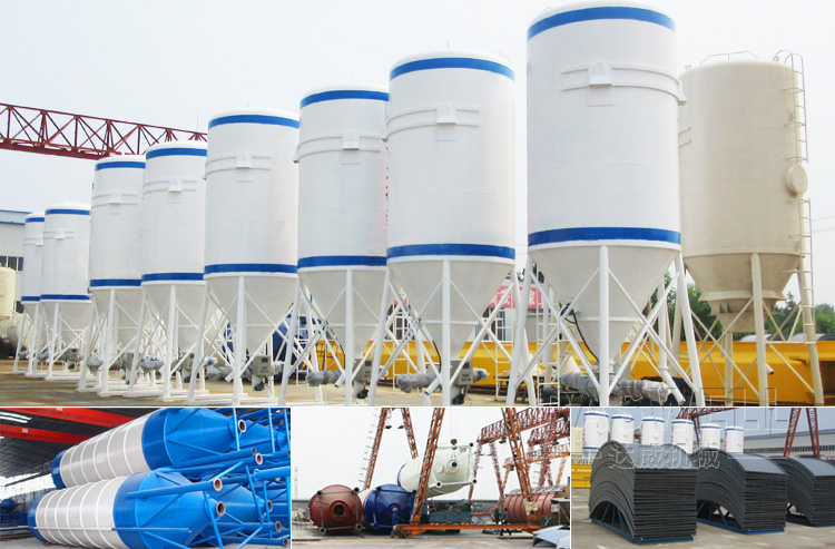 Daswell Bolted Cement Silo For Concrete Batching Plant Buy Cement