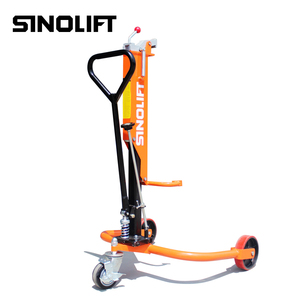 Sinolift DP25 DP35 Hand Hydraulic Drum Trolley with Best Price