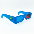 3D Cardboard Glasses Red Cyan For 3d Movies