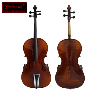 Best brands high quality oil handmade flame maple cello music gift craft
