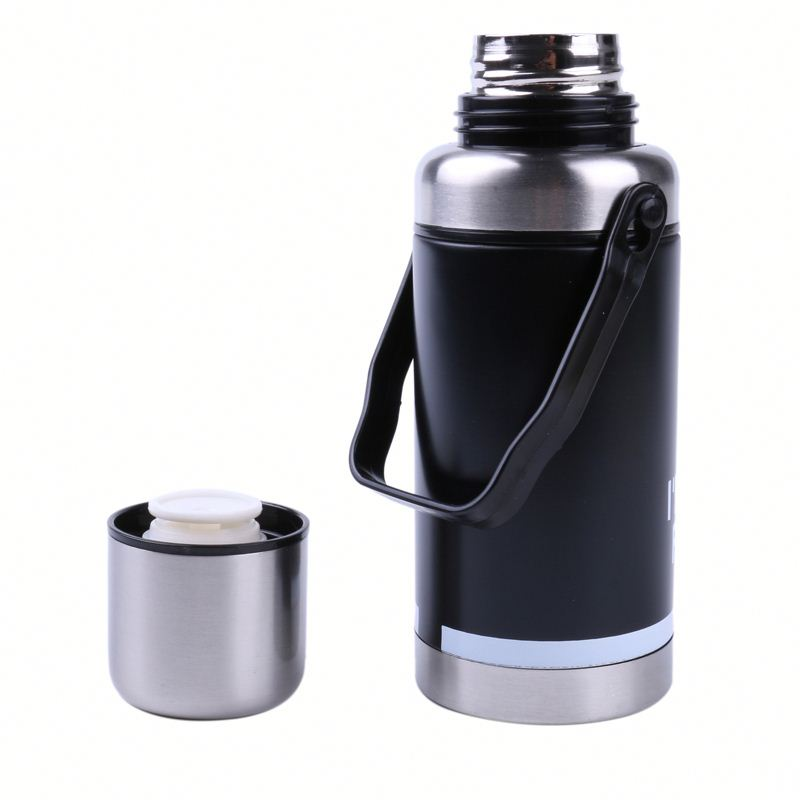 stainless steel hot and cold water bottle ,kywcH stainless steel brass silver color vacuum coffee pot