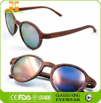 Thin Wood Frames Curved Pile Tip New Design Fashion Sunglasses ...