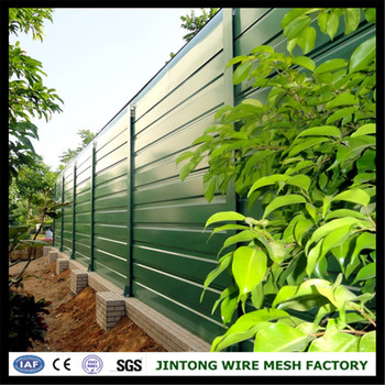 Factory Sale Highway Noise Barrier/ Sound Barrier Wall/ Sound Absorbing  Panel