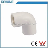 Factory Direct Wholesale PVC Pipe Fitting 90 Degree Female Threaded Elbow