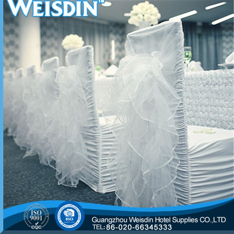 wedding new style polyester/cotton plain dyed spandex banquet chair cex chair covers