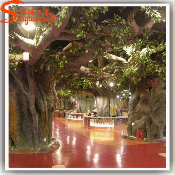 realistic style artificial tree live ficus tree for wedding decoration - Ficus Trees