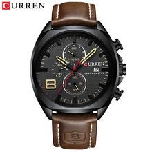 Часы CURREN, армейские, аналоговые, кварцевые, спортивные, водонепроницаемые(Китай)