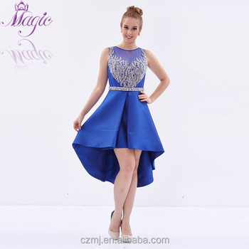 2017 New Arrival Design High Quality Sequin Beaded Royal Blue Short ...