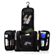 Large hanging foldable travel kit shaving mens cosmetic toiletry bag