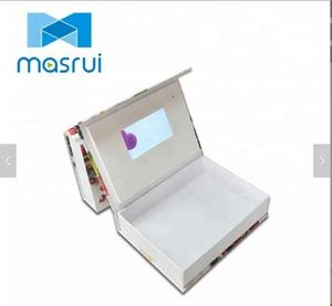 Hardcover Video Presentation Case Product Launch Use Video Gift Box Products Video Broadcasting