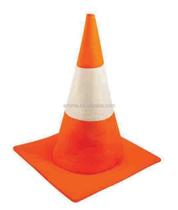 Traffic Cone Hat Party Fancy Dress Costume Accessory Novelty Unisex Orange Road Safety SA791