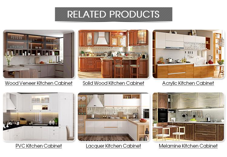 Haut de gamme modulaire cuisine modèle de conception simple