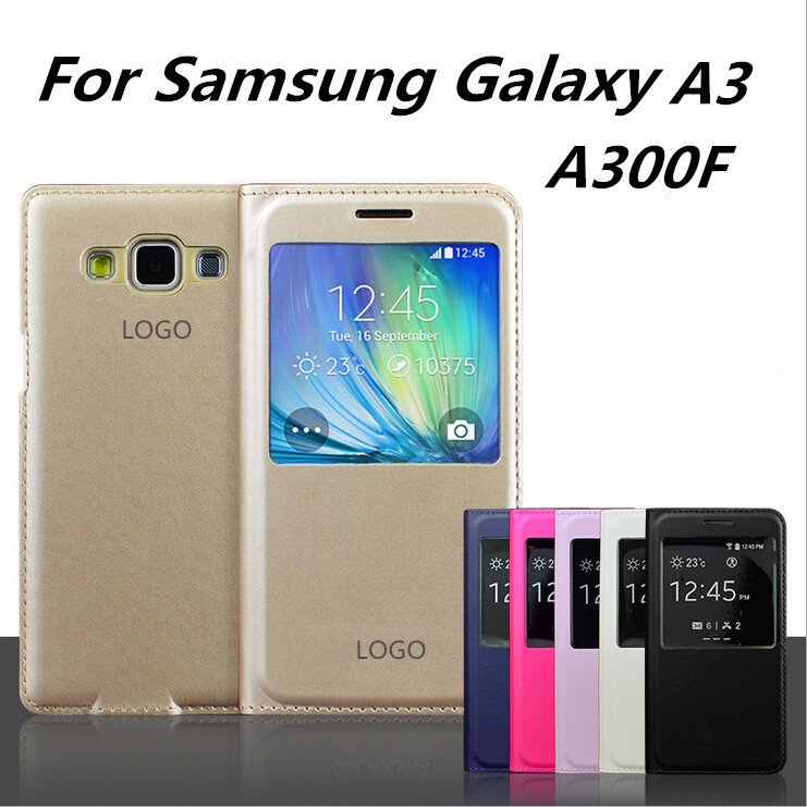 best website ac040 5aa0e Купить оригинальные флип Пу кожаный чехол для samsung galaxy a3 ...