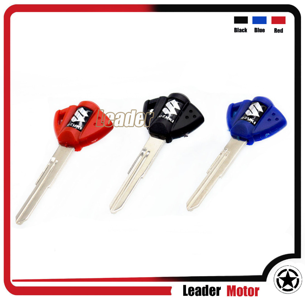 For Suzuki GSX GSXR 400 600 750 1000 1300 Motorcycle Blank Key Uncut Blade