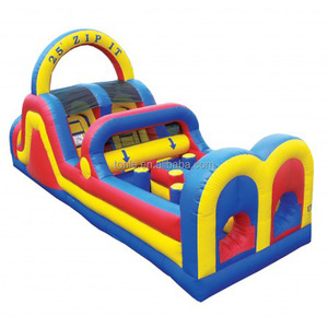 hot sale kids obstacle course equipment, Zip It inflatable Obstacle Course, indoor outdoor inflatable obstacle challenge