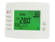 pvc air conditioner cover 24V Low voltage digital thermostat Cooling Heating Temperature Controller HVAC thermometer
