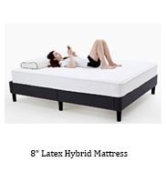 Roll Up Bamboo Mattress with Bamboo Mattress Fabric and High Carbon Spring Steel Wires, 10 Inch - Jozy Mattress | Jozy.net