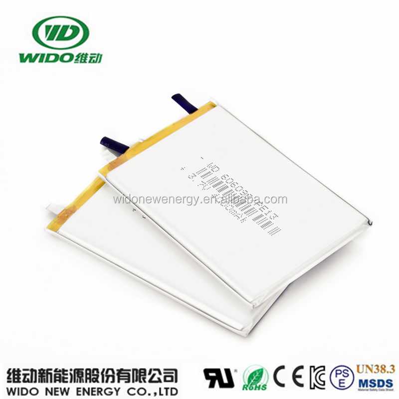 606090 4000mAh lithium polymer 3.7v 4000mah battery ul listed batteries with high quality