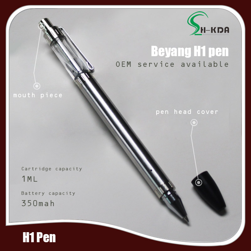 newest high quality and smooth cbd oil vape pen with material vape cartridge glass