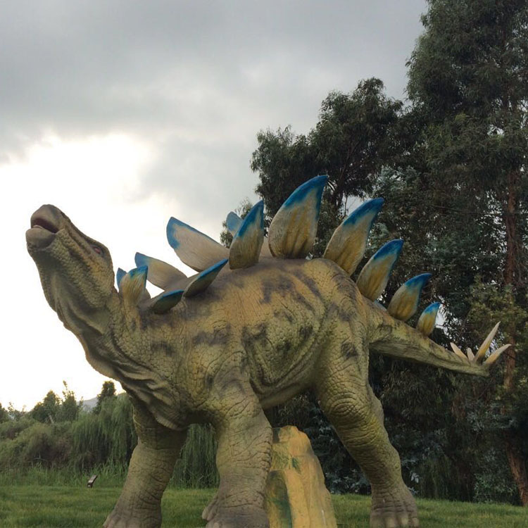 High Simulation Artificial Handmade Life Size Dinosaur In Stock