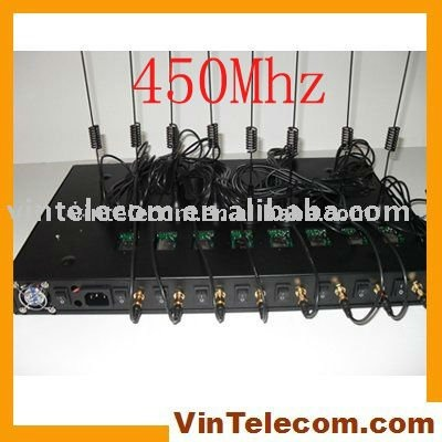 8port CDMA450Mhz terminal for VoIP Call termination IMEI change-NEW