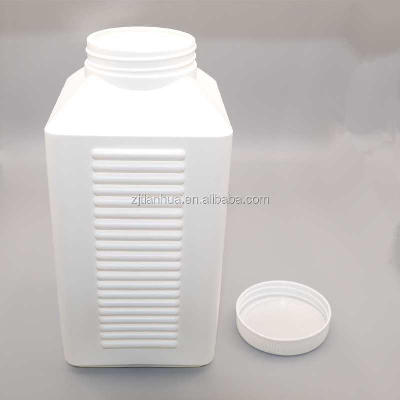 2500ml Hdpe Empty Plastic Protein Powder Container Food Container