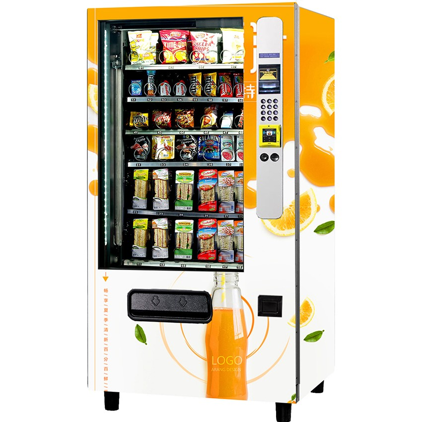 Drinks Selling Machine Coin Operated Vending Machine With Cash Acceptor -  Buy Water Vending Machine,Coin Operated Ice Vending Machine,Vending Machine  Coin Acceptor Product on Alibaba.com