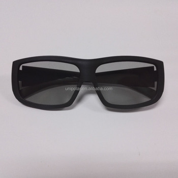 Newest Big Frame Polarized 3D Glasses for IMAX 3D