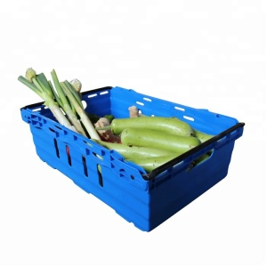 Plastic Basket for Fruit Vegetable Tomato Potato Storage Nest Stacking Plastic Crates Stackable Fruit Turnover Box