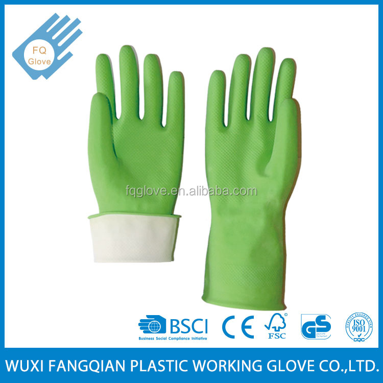 Long Sleeve Latex Household Gloves For Cleaning