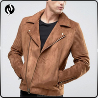 High quality fashion custom woodland leather jacket , mens suede jacket with best price