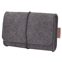Carrying Felt Sleeve Case Bag Travel Organizer for Computer Electronics Cell Phone Accessories Essentials MP3 MP4 Logitech