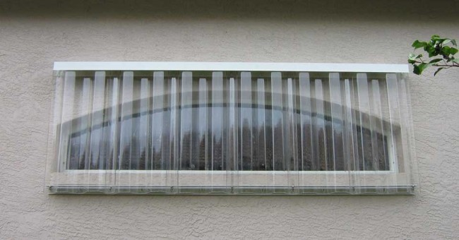 Clear Corrugated Polycarbonate Storm Panels Clear Panel