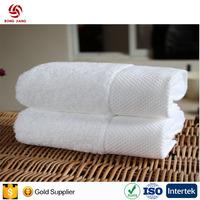 Bulk Wholesale white 100% cotton bath towel and hand towel