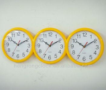 da0f94d095a Tempo do mundo relógio de parede mundo relógios de fuso horário de exibição  ...